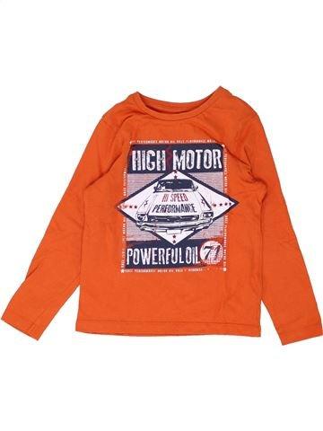 Camiseta de manga larga niño ORCHESTRA naranja 5 años invierno #1448814_1