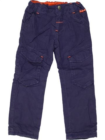 Pantalón niño ORCHESTRA azul 4 años invierno #1448818_1