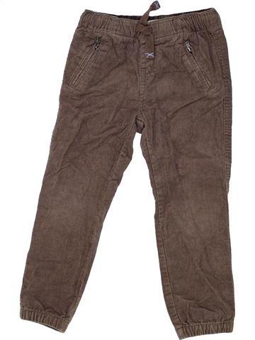 Pantalón niño VERTBAUDET marrón 4 años invierno #1448820_1
