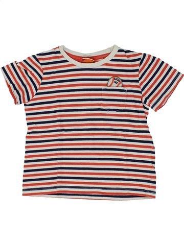 T-shirt manches courtes garçon TAPE À L'OEIL violet 3 ans été #1448831_1