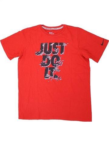 T-shirt manches courtes garçon NIKE rouge 15 ans été #1448933_1