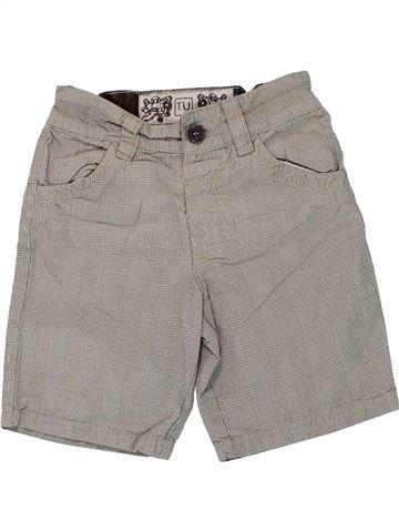 Short-Bermudas niño TU gris 3 años verano #1449025_1