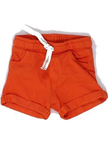Short - Bermuda garçon OKAIDI orange 6 mois été #1449094_1