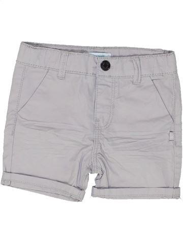 Short - Bermuda garçon OKAIDI gris 6 mois été #1449131_1