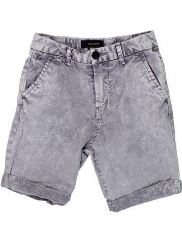 Short - Bermuda garçon RIVER ISLAND gris 8 ans été #1449163_1