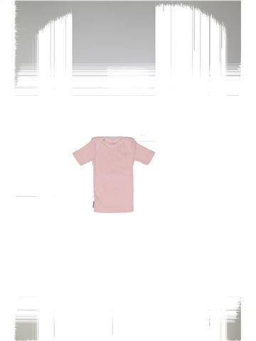 Camiseta de manga corta niña PETIT BATEAU blanco 6 meses verano #1449213_1