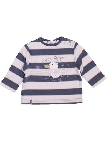 Camiseta de manga larga niño CADET ROUSSELLE blanco 3 meses invierno #1449494_1