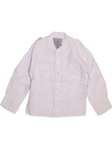 Camisa de manga larga niño OOXOO blanco 4 años verano #1449497_1