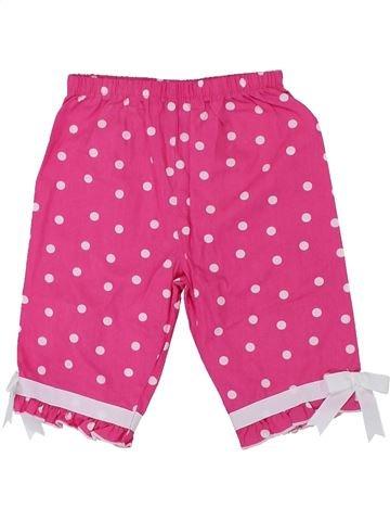 Pantalon fille BONNIE BABY rose 18 mois été #1449609_1