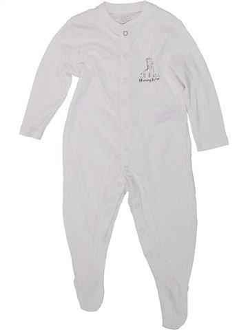 Pyjama 1 pièce garçon PRIMARK blanc 9 mois été #1449611_1