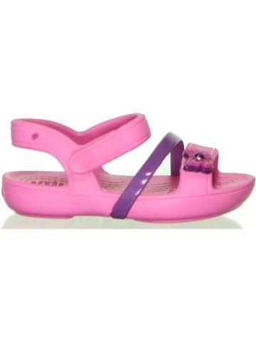 Sandalias niña CROCS rosa 22 verano #1449675_1