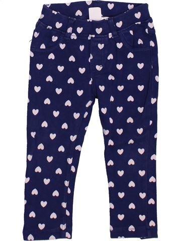 Pantalón niña H&M azul 2 años invierno #1449715_1