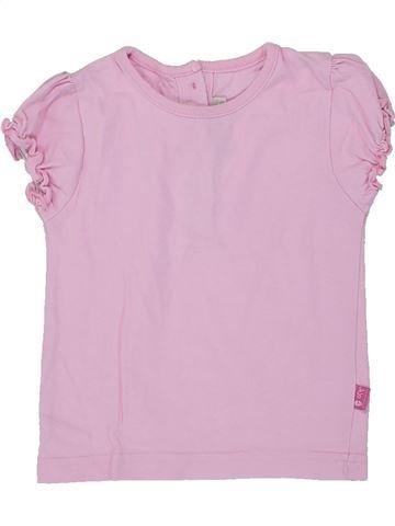 T-shirt manches courtes fille JOJO MAMAN BÉBÉ rose 18 mois été #1449854_1