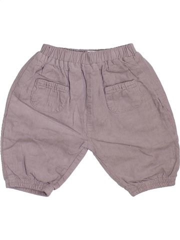 Pantalón niño LA REDOUTE CRÉATION gris 3 meses invierno #1450039_1