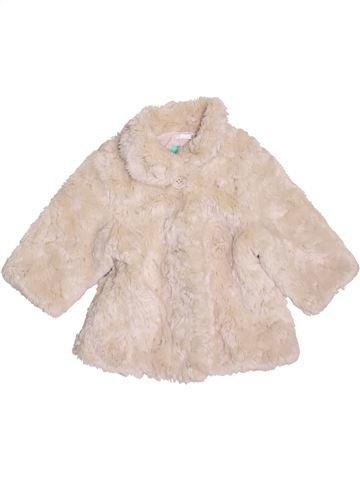 Manteau fille MONSOON beige 12 mois hiver #1450242_1