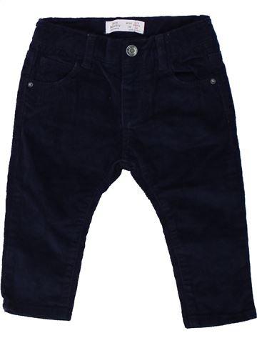 Pantalón niño ZARA negro 9 meses invierno #1450844_1