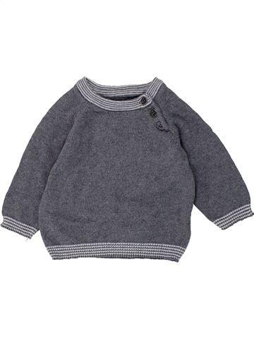 Pull garçon H&M bleu 3 mois hiver #1451015_1
