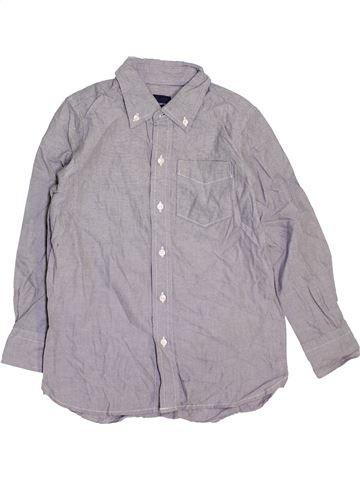 Chemise manches longues garçon GAP violet 7 ans hiver #1451482_1