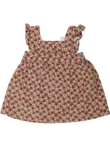 Vestido niña TEX marrón 9 meses invierno #1451565_1