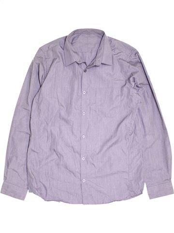 Chemise manches longues garçon DUNNES STORES violet 15 ans hiver #1451785_1
