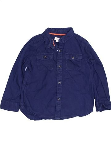 Camisa de manga larga niño RIVER ISLAND azul 3 años invierno #1451854_1
