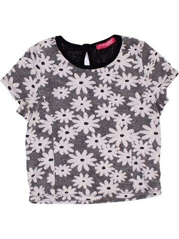 T-shirt manches courtes fille PRIMARK blanc 8 ans été #1451922_1