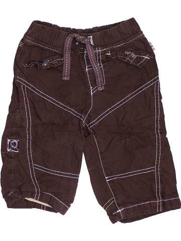 Pantalon garçon OKAY marron 6 mois hiver #1452090_1