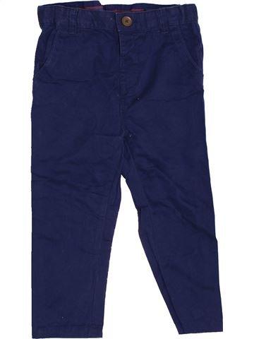 Pantalon garçon ZARA bleu 2 ans hiver #1452344_1