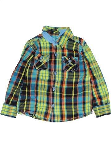 Chemise manches longues garçon KIKI & KOKO vert 3 ans hiver #1452385_1