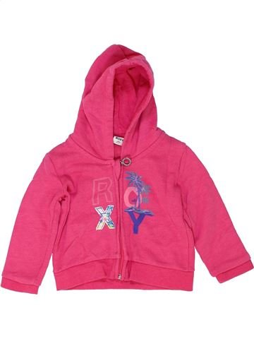 Sweat fille ROXY rose 18 mois hiver #1452413_1