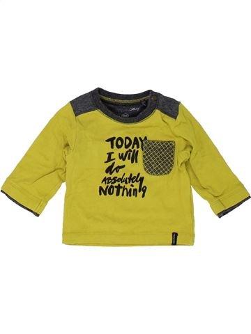 T-shirt manches longues garçon NOPPIES jaune 1 mois hiver #1452574_1