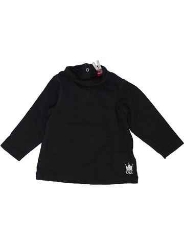 T-shirt col roulé fille ORCHESTRA noir 6 mois hiver #1452575_1