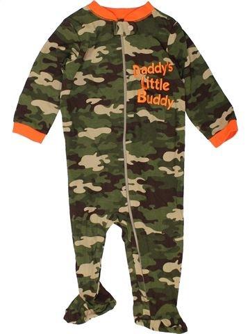 Pyjama 1 pièce garçon GARANIMALS marron 9 mois hiver #1452787_1