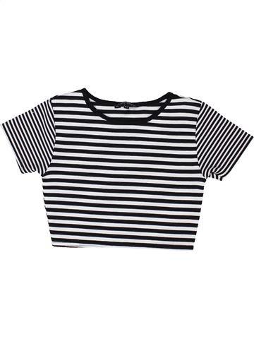 T-shirt manches courtes fille CANDY COUTURE blanc 9 ans été #1452931_1