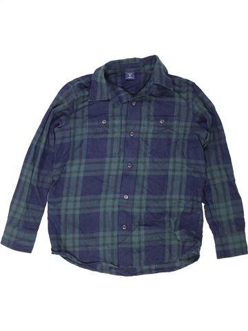 Chemise manches longues garçon GAP bleu 8 ans hiver #1453076_1