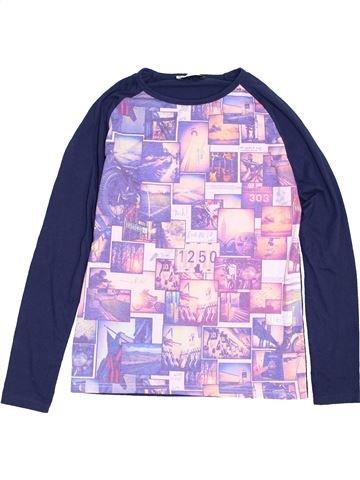 T-shirt manches longues garçon ZARA rose 14 ans hiver #1453262_1