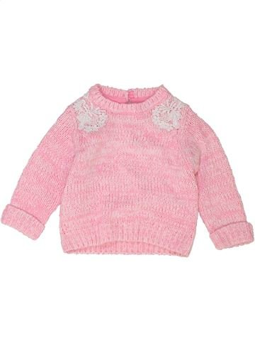 Pull fille F&F rose 6 mois hiver #1453297_1