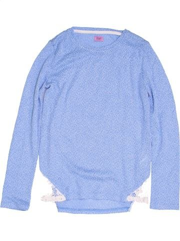 Pull fille F&F bleu 13 ans hiver #1453351_1