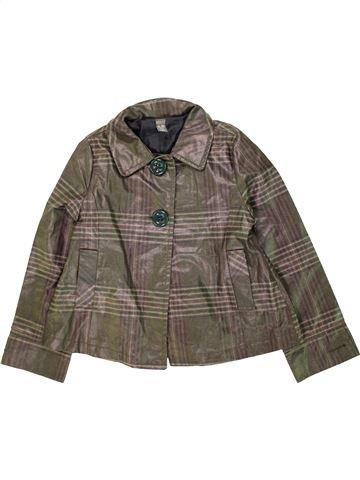 Anorak-Trinchera niña ZARA marrón 10 años verano #1453478_1