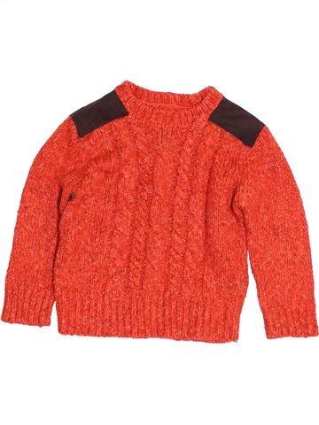 Pull garçon JOHN LEWIS rouge 4 ans hiver #1453498_1