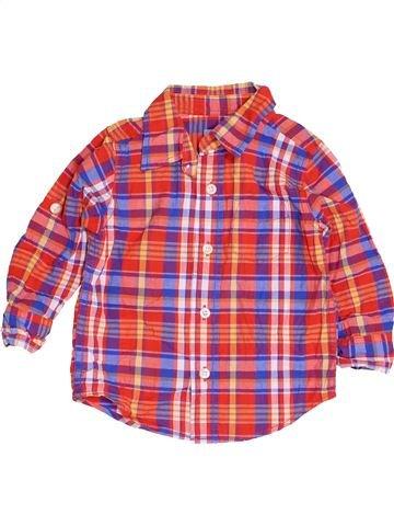 Chemise manches longues garçon GAP rose 2 ans hiver #1453511_1