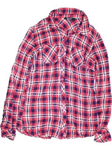 Chemise manches longues garçon NEW LOOK rose 15 ans hiver #1453522_1