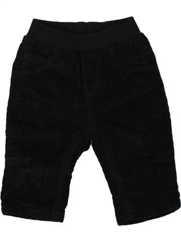 Pantalón niño BLUEZOO negro 6 meses invierno #1453726_1