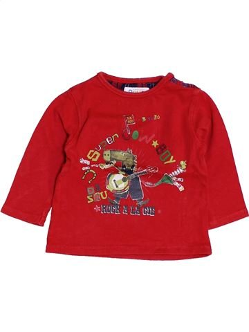 Camiseta de manga larga niño LA COMPAGNIE DES PETITS rojo 12 meses invierno #1453830_1
