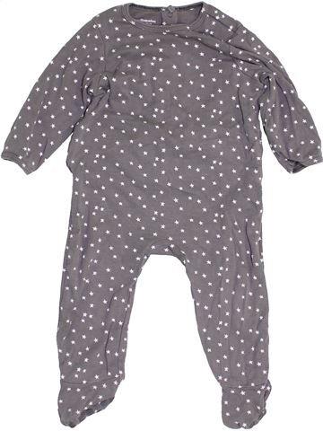 Pijama de 1 pieza niña VERTBAUDET violeta 12 meses verano #1453904_1