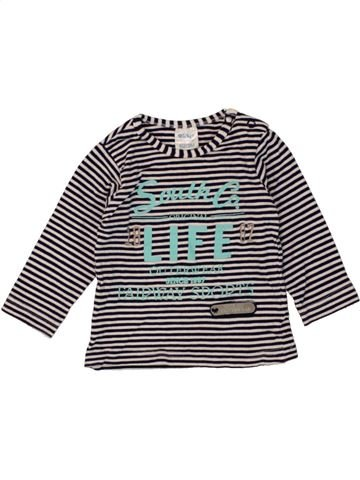 T-shirt manches longues garçon DIRKJE noir 3 mois hiver #1453984_1