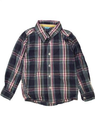 Chemise manches longues garçon HEMA gris 6 ans hiver #1454002_1