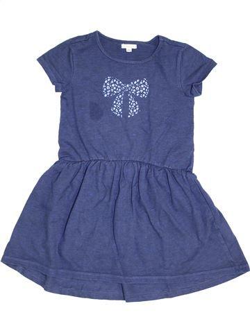 Vestido niña VERTBAUDET azul 8 años invierno #1454143_1