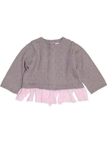 jersey niña BRIOCHE gris 6 meses invierno #1454286_1