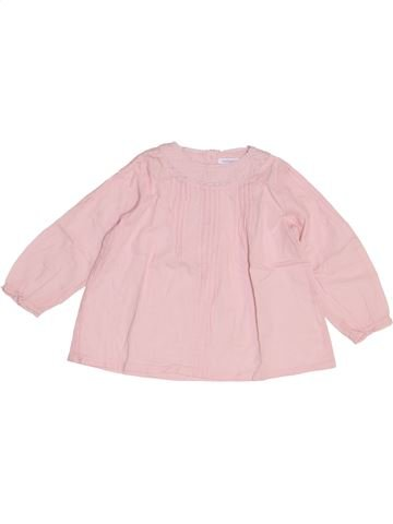 Blusa de manga larga niña BOUT'CHOU violeta 2 años invierno #1454294_1